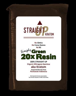 Green 20x Resin