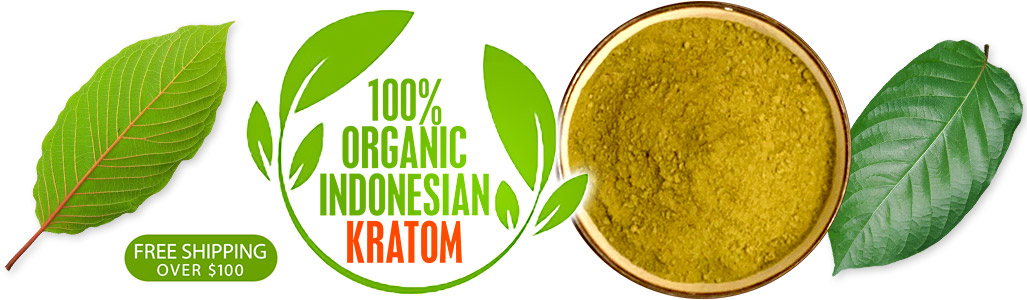 100% Organic Indonesian Kratom - Free Shipping Over $100